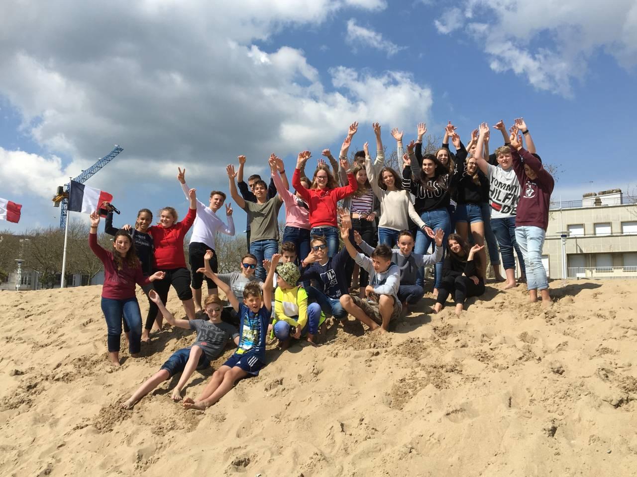 20 Jahre Deutsch Französischer Schüleraustausch Am Pkg Aktuelles