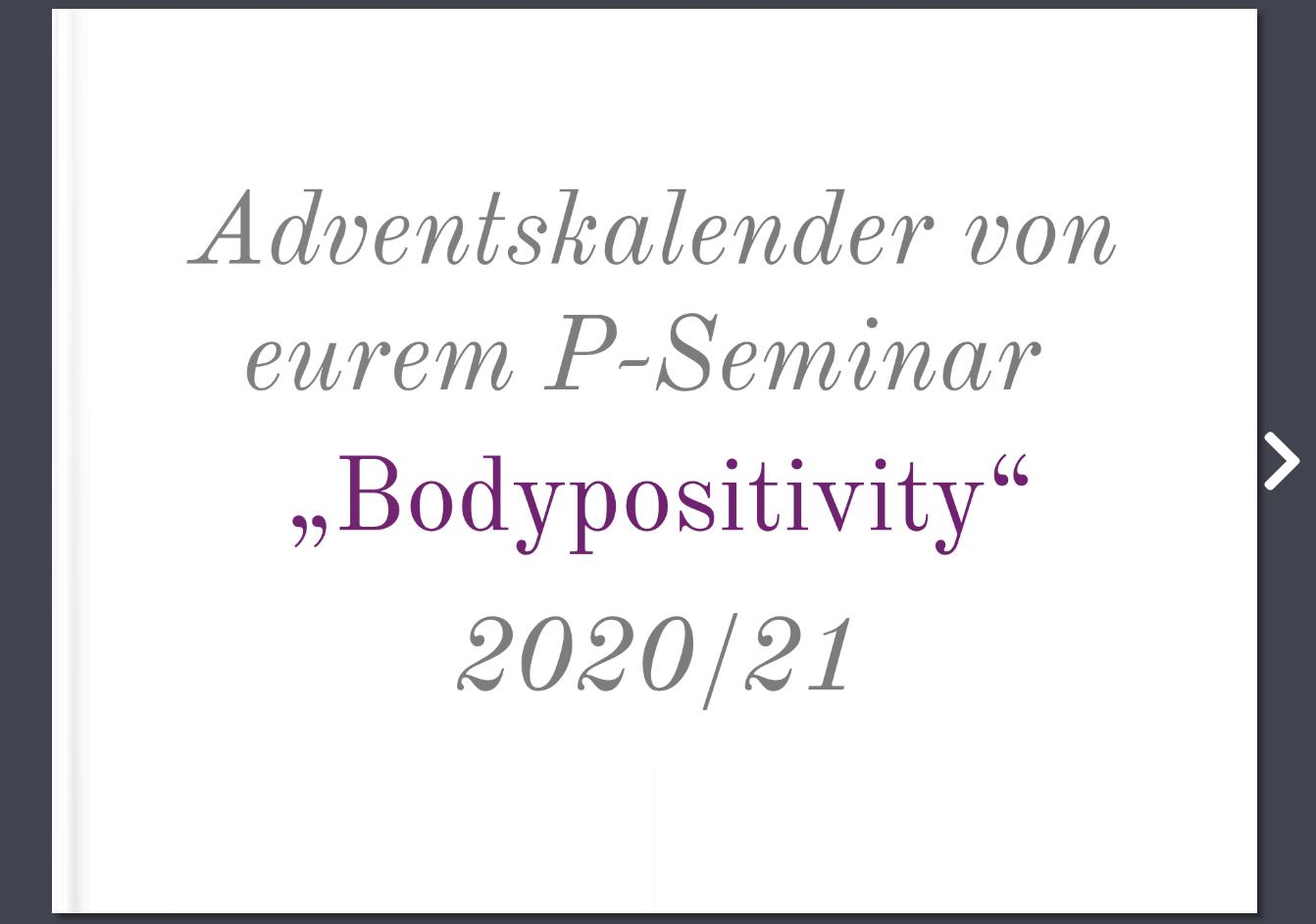 Adventskalender P-Seminar